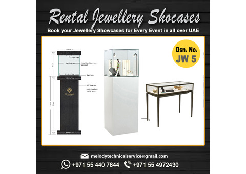 Jewelry Display Manufacturer in Dubai   Rental Display for events in UAE