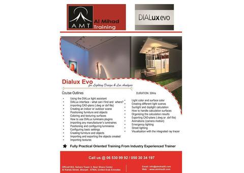 #Dialux Evo Course #Training in #Dubai / #Sharjah – Al Mihad Training Center