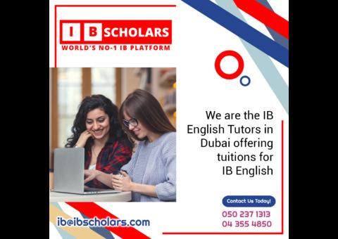 IB English Tutoring in Dubai