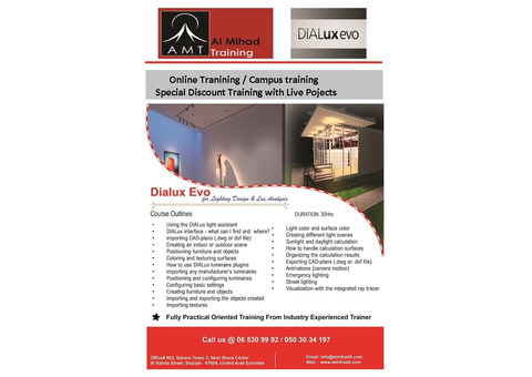 Dialux Evo training from Al Mihad training centre