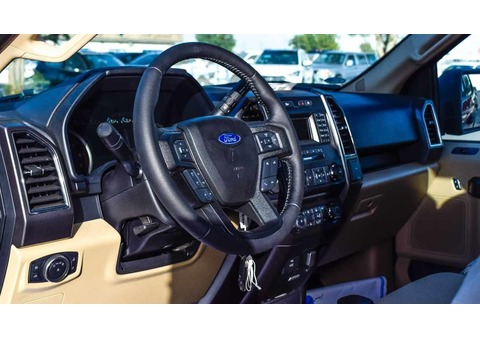2017 FORD F150 XLT PICK UP - DOUBLE CABIN - 3.5L ECOBOOST V6 - GCC SPECS