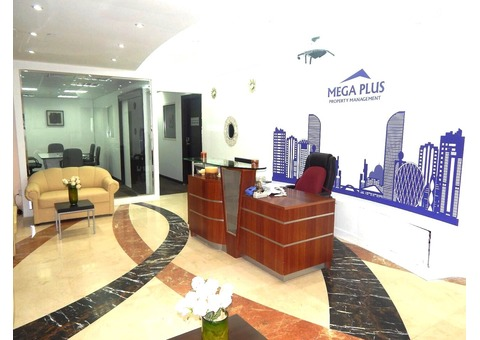 Available offices for rent and renewal for Trade license