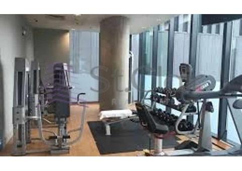 Large Studio w/ Balcony | Low Floor | Marina View