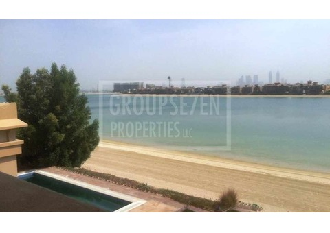 Rent 6BR Palm Signature Villa Gallery View High Odd with Skyline views